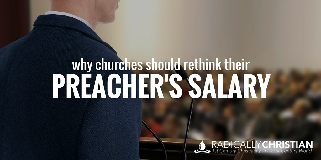 Paying the Preacher