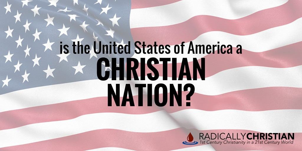 united states christian nation We quickly learn in the first few chapters of sex and the constitution that the idea  of the united states as a judeo-christian nation founded on.