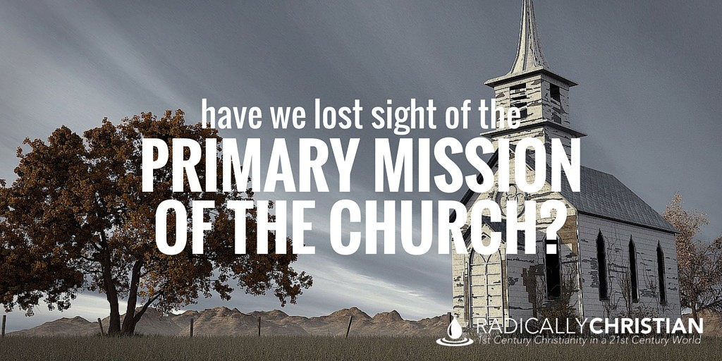 primary mission of the church