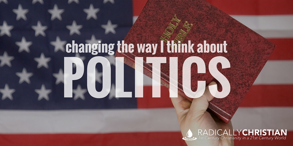 Changing the Way I Think About Politics