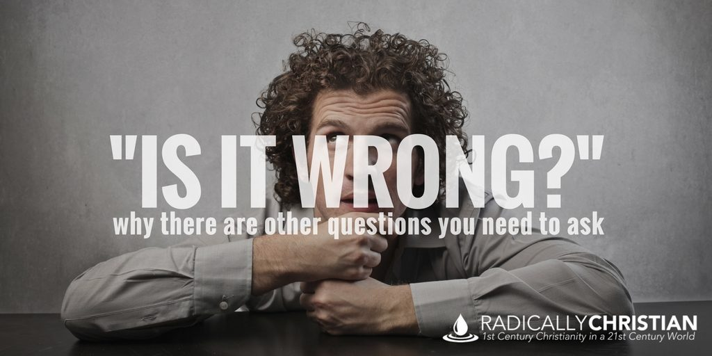 Graphic: Is It Wrong