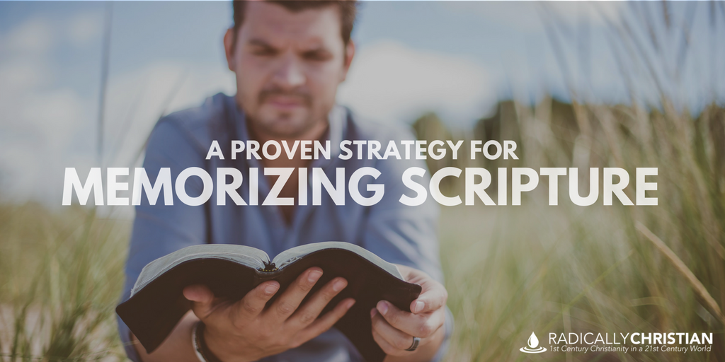 A Proven Strategy for Memorizing Scripture