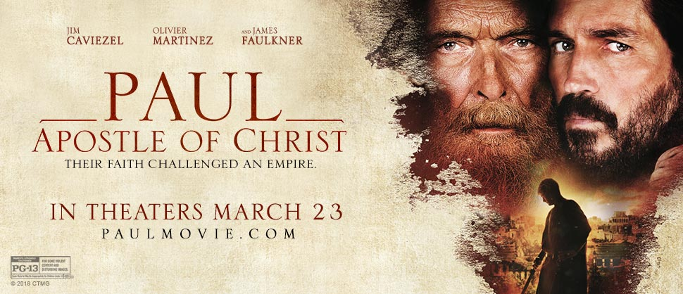 """Paul, Apostle of Christ"" Movie Review"