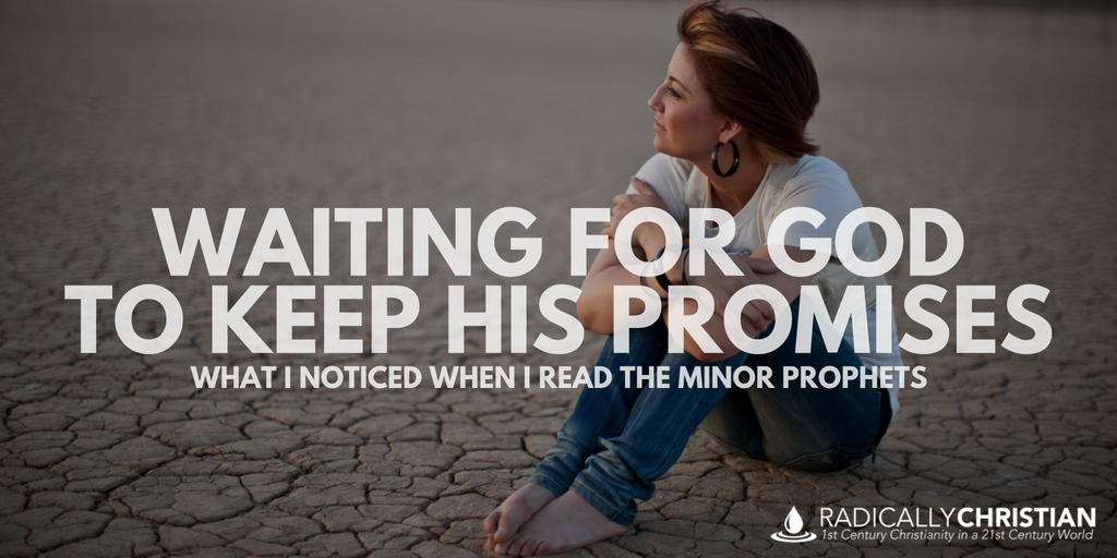 Waiting for God to Keep His Promises: What I Noticed When I Read the Minor Prophets