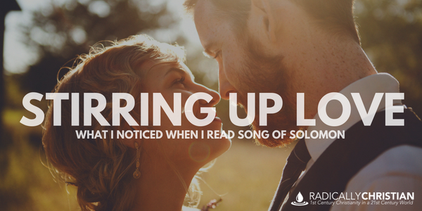 Stirring Up Love: What I Noticed When I Read Song of Solomon