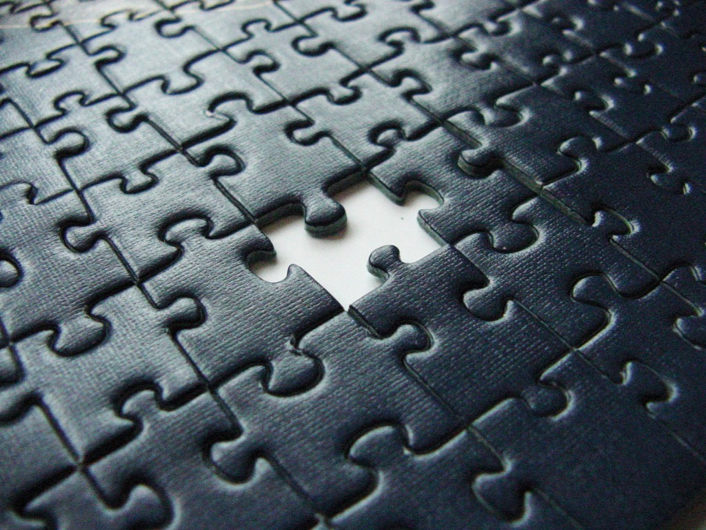 God the Missing Piece of the Puzzle