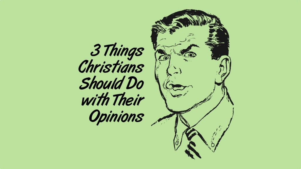 christians opinions