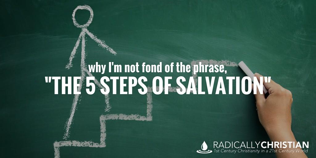 5 Steps of Salvation