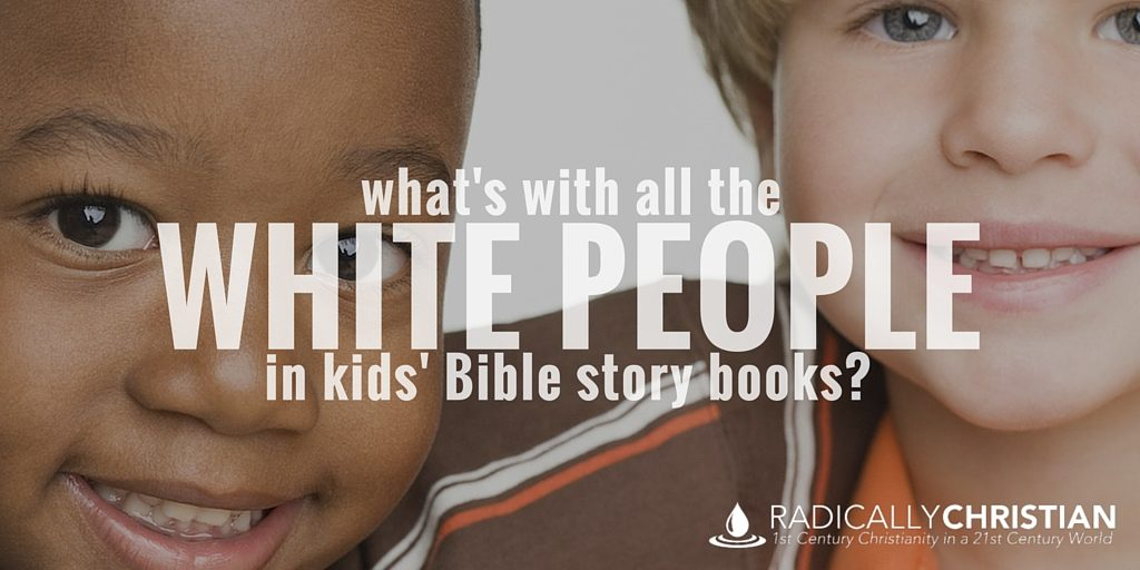 white bible story