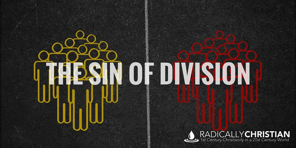 the sin of division