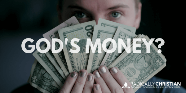 "Are We Giving Money ""to God"" on Sundays?"